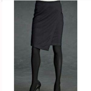 CAbi #998 Asymmetrical Ponte Knit Pencil Skirt 4
